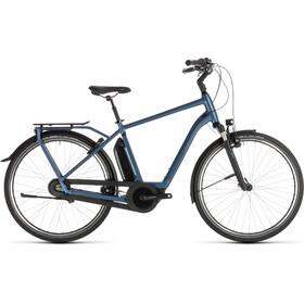 Cube Town Hybrid EXC 500 Bicicletta elettrica da città blu
